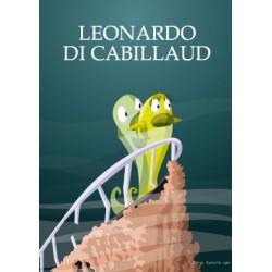 Carte postale Leonardo di Cabillaud