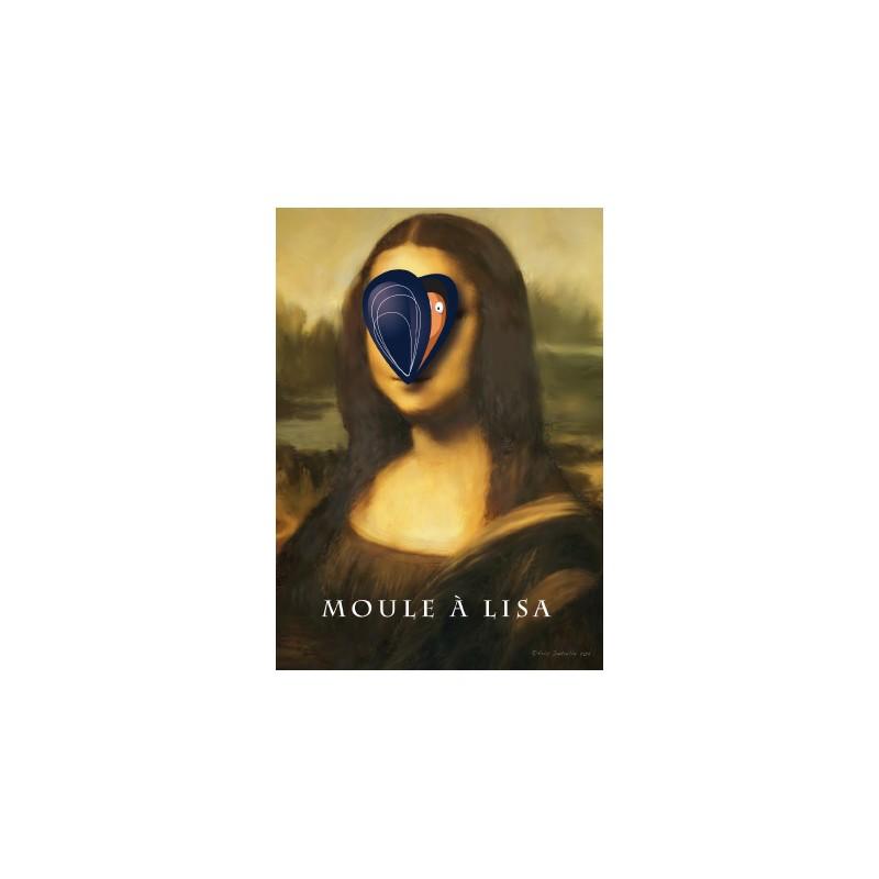 Carte postale Moule à Lisa