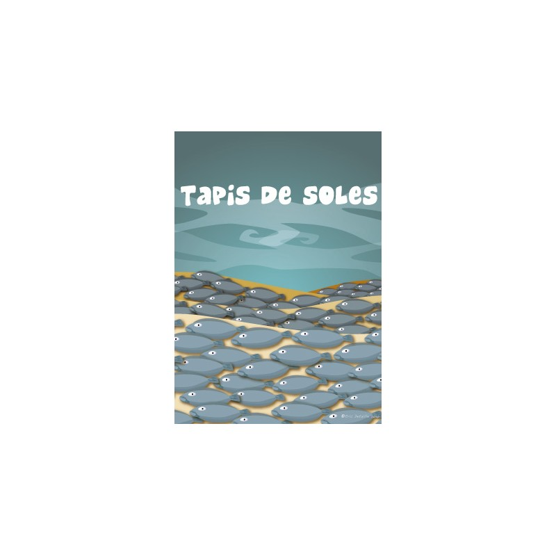 Carte postale Tapis de soles