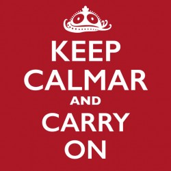 T-Shirt Hommes Keep calmar and carry on