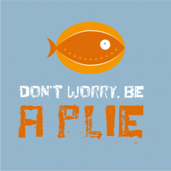 T-Shirt Homme Don't worry, be a plie !