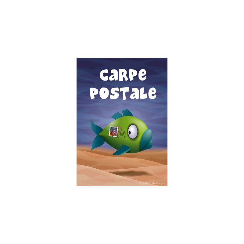 Carte postale Carpe postale