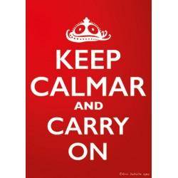 Carte postale Keep calmar and carry on