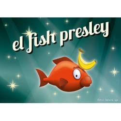 Carte postale El fish Presley