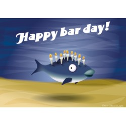 Carte postale Happy bar day