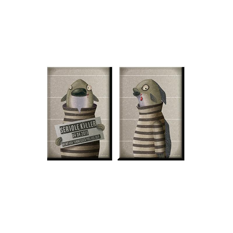 Magnets Sériole Killer (duo)