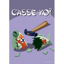 Carte postale Casse koï